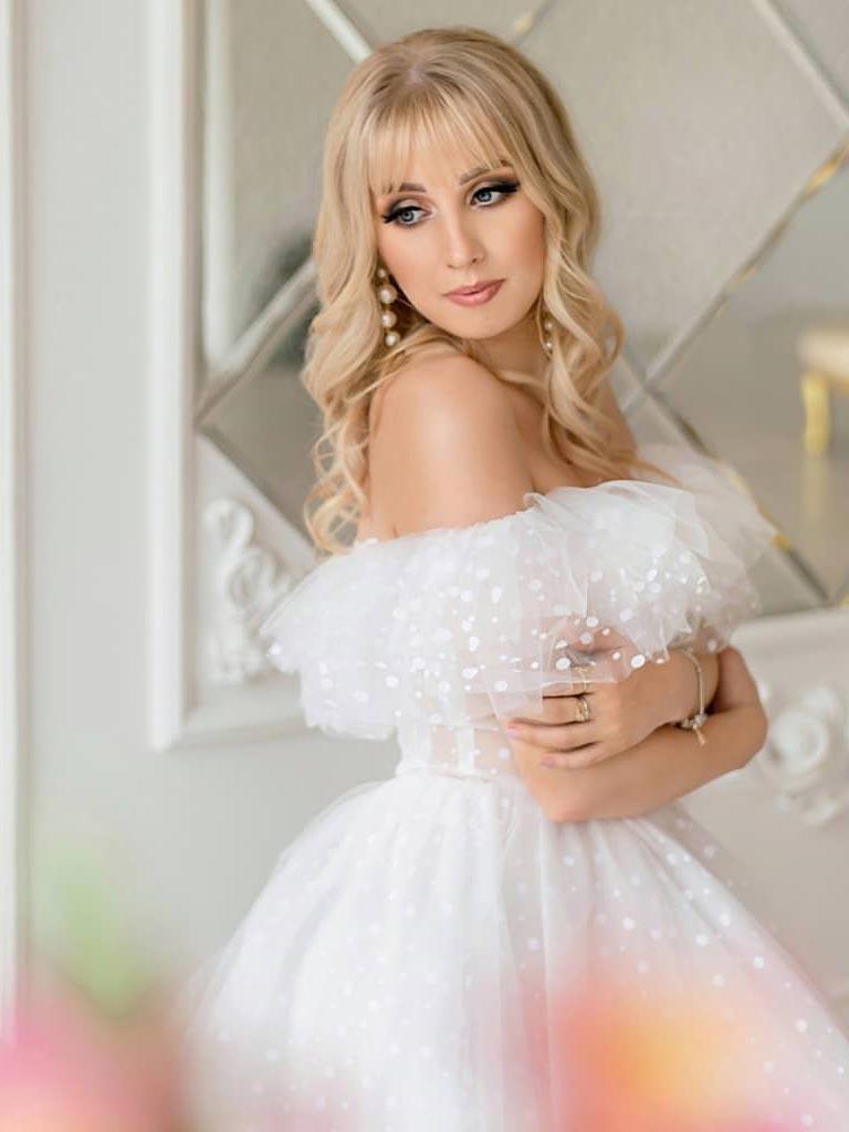 свадебная прическа, свадебные локоны